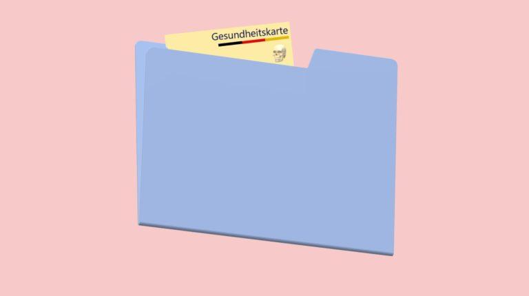 Datenschutz und die elektronische Gesundheitskarte.
