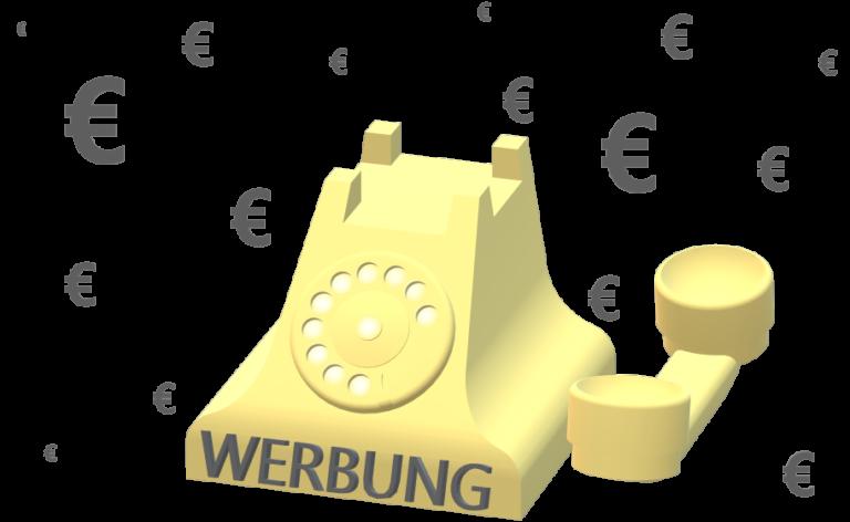 Bußgeld wegen unerlaubter Telefonwerbung